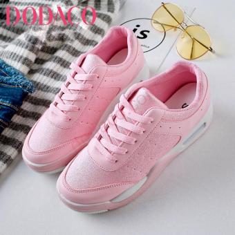 Giày Sneaker Nữ Thời Trang DODACO DDC1871 (Phấn Hồng)