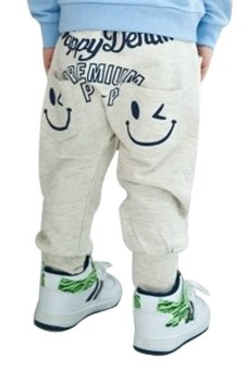 Sunweb Baby Boy's Loose Sports Trousers Dance Harem Pants (Grey) - intl