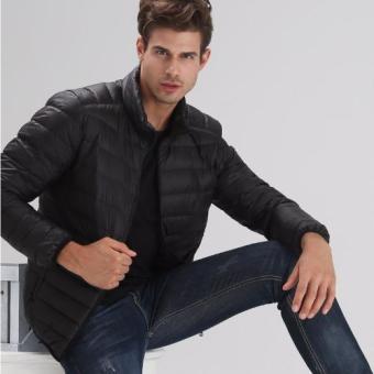 Áo khoác phao nam siêu nhẹ L&A fashion (Đen)