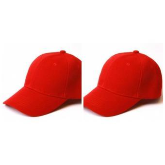 Mũ kaki đỏ cờ trơn thời trang VH1987