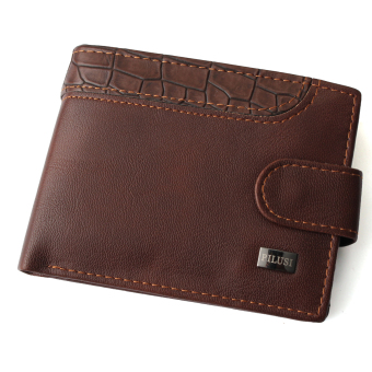 LUXURY SOFT LEATHER WALLET CREDIT CARD HOLDER PURSE GIFT Coffee - Intl