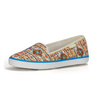 Giày Búp Bê Nữ QuickFree Fashion B160101-003 (ren vàng nhạt)