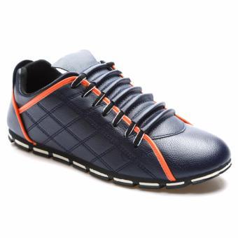 Giày lười nam thời trang HNP GN055 (Xanh đen)