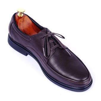 Giày tây nam da thật cao cấp buộc dây Da Giày Việt Nam - VNLMT24VCT4N-1 (Nâu)