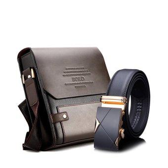Bộ túi đeo chéo đựng ipad và thắt lưng khóa tự động Hanama 39501-TGV