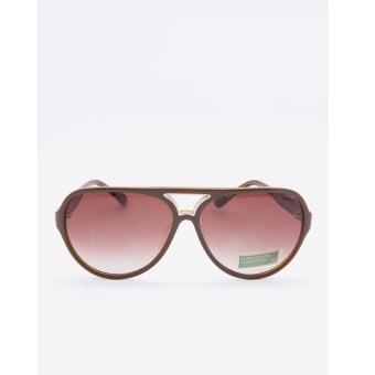 Kính mát thời trang cao cấp nhập khẩu Hàn Quốc hiệu United Colors of Benetton màu tím hồng