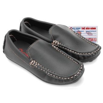 HL7801 - Giày KIDS mọi nam Huy Hoàng màu đen