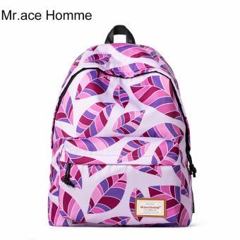 Balo Thời Trang Mr.ace Homme MR15C0166E03 / Tím hồng