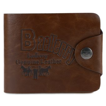 Baellerry Men Retrol Hollow Transverse Wallet/Purse - Intl