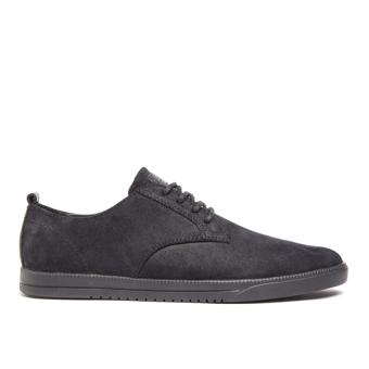 Giày Sneaker nam Clae Ellington Suede (Cla01246) (Đen)