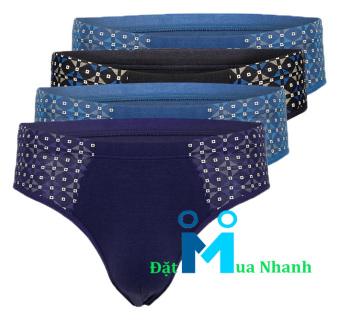 Bộ 4 quần lót nam siêu mịn Body UnderWear - OD06