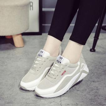Giày sneaker nữ Bomdo BGTX119 (XÁM)