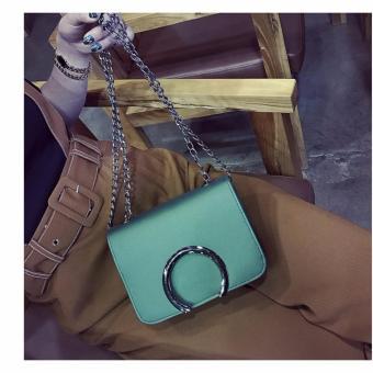 Túi xách đeo chéo thời trang CC02(XANH)