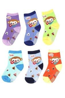 Bộ 6 đôi tất vớ trẻ em Từ 1-4 tuổi bé trai SoYoung 6SOCKS 003 1T4 BOY
