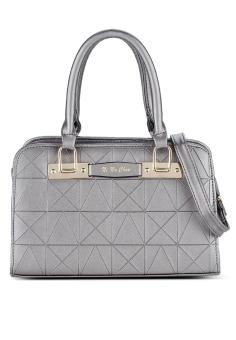 Túi đeo chéo nạm đinh xinh xắn Vinadeal A04 (Bạc)