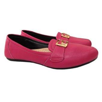 Giày nữ da bò chính hãng cung cấp bởi Foxer GD221025H (hồng)