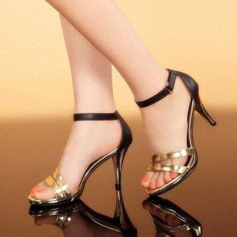 Giày cao gót Siletto-Vàng