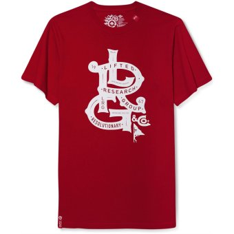 Áo thun đỏ nam LRG Men's Lifted Nobility T-Shirt (Mỹ)