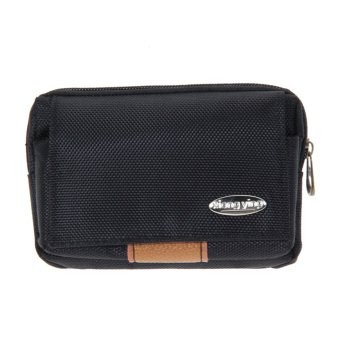 Men Leather Wallet Black - intl
