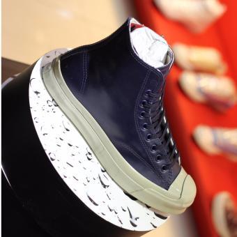 Giày Converse Nam Jack Purcell Signature Rubber 153582 (Xanh Đậm)