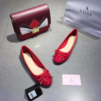 Giày Búp Bê Nơ (Đỏ)