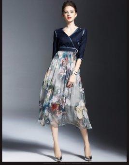 Đầm xoè (Xanh)