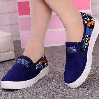 Giày nữ sắc xinh tươi tạo cho đôi chân phong cách sang trọng - 180 (Xanh)