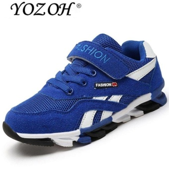Spring And Summer New Childrens Shoes, Breathable Sportsshoes Childrens Casual Shoes-Blue - intl