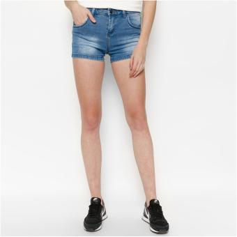 Quần Shorts Jeans Trơn