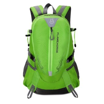 Fashion Waterproof Outdoor Sports Shoulder Bag Travel Backpack (Green) - intl
