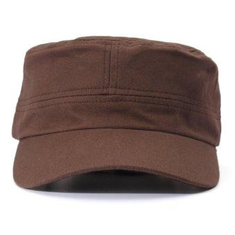 Men Women Adjustable Army Plain Baseball Hat Classic Cadet Military Sport Cap - Intl - intl