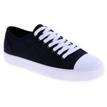 Giày vải nữ kiểu cột dây Aqua Sportswear W1031A (Đen)