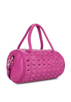Túi đeo chéo hình ống Vinadeal A07 (Tím)