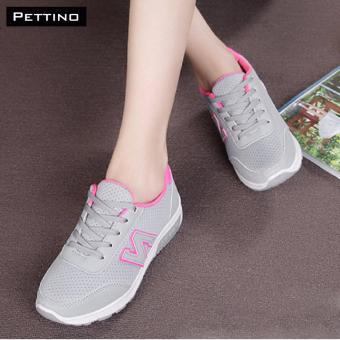 Giày Thể Thao Nữ Cao Cấp - Pettino MT-01 (xám)