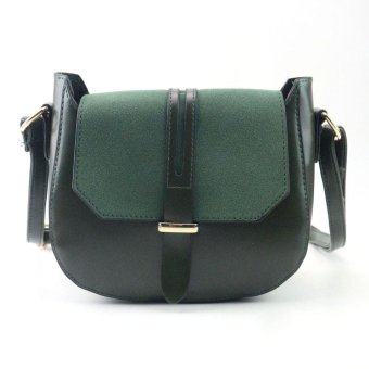 Women Fashion Arrow Handbag Shoulder Bag Tote Ladies Purse Green - intl