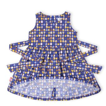 Đầm bé gái Oiwai 68-4082-411 DBL (xanh navy)