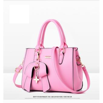 Túi xách tay kèm dây đeo chéo nữ thời trang ARCAO(Màu hồng hoa anh đào)