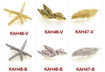 Combo 2 Kẹp tóc mái thời trang chất liệu cao cấp KAH48-V và KAH47-V