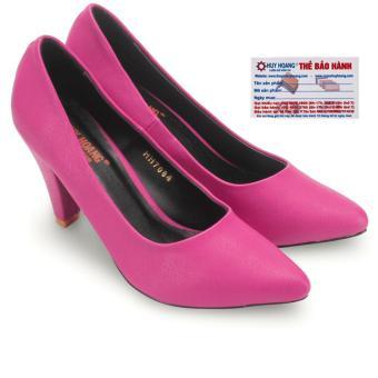 HL7083 - Giày nữ Huy Hoàng cao cấp đế 7 cm màu hồng cánh sen