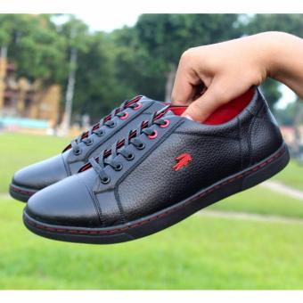 [VIDEO quay thật] Giày da bò thật TT18 (Đen) cung cấp bởi THỜI TRANG DA.