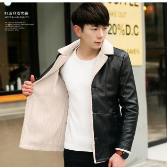 Áo khoác da lót lông nỉ TAHS022