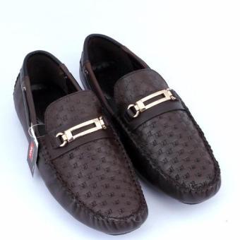 Giày nam da thật chính hãng Da Giày Việt Nam VNLMOS11A2-2N-1 (Nâu).
