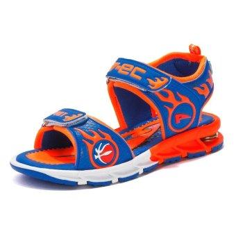 Summer Sandals Shoes 2017 Boys General Leather Children Shoes Boys Girls Sandals - intl