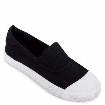 Giày lười thể thao nữ AZ79 WNTT0110014A2 (Đen)