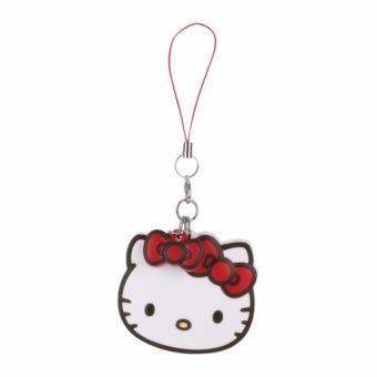 Móc khóa Gương mini Hello Kitty tiện lợi cho bạn gái (Bản quyền Sanrio Nhập khẩu Nhật Bản)