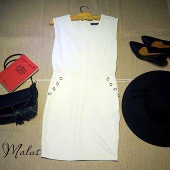 Đầm bodycon Xavia Clothes Malus (Trắng)
