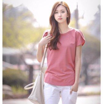Áo Thun Nữ Kiểu Hàn Quốc Sodoha AVNEU38919 - Màu Hồng