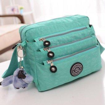 Women Waterproof Oxford Tote Messenger Handbag Ladies Hobo Shoulder Bag - intl