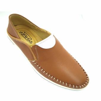 Giày lười da bò thật kiểu dáng mới AD3336V