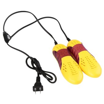 220V 10W Race Car Shape Voilet Light Shoe Dryer Foot Protector Shoes Drier - intl